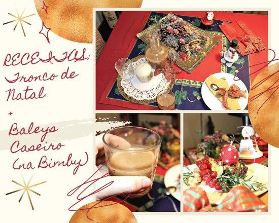 TRONCO DE NATAL E BALEYS