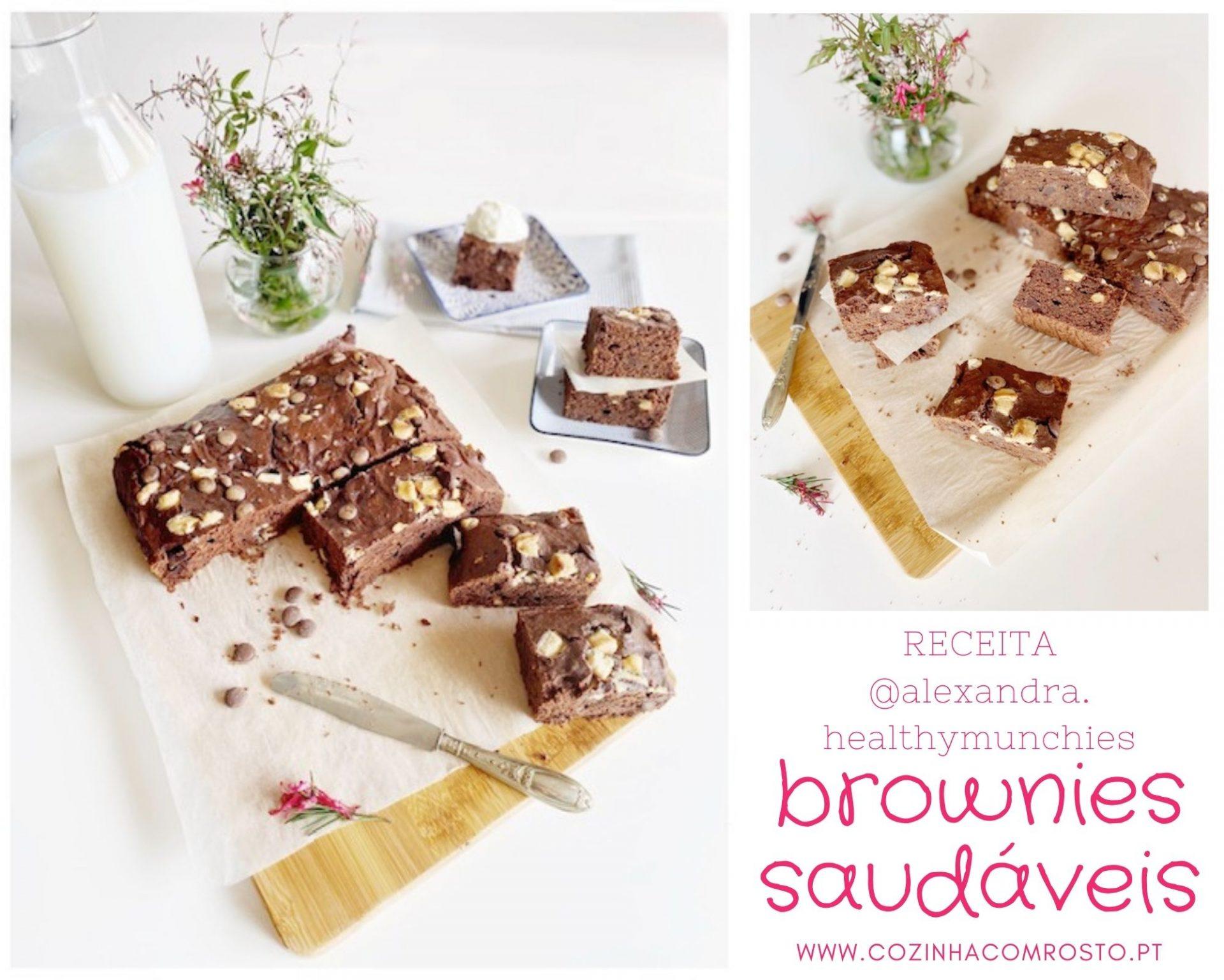 brownies saudáveis