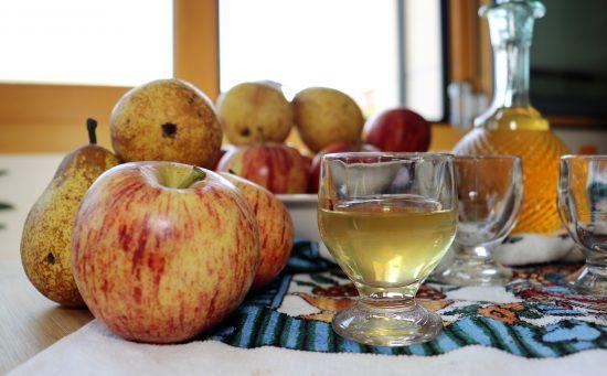 licor maçã